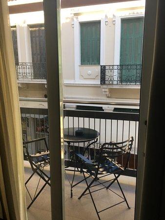 Adrian Hotel: Small balcony is a plus