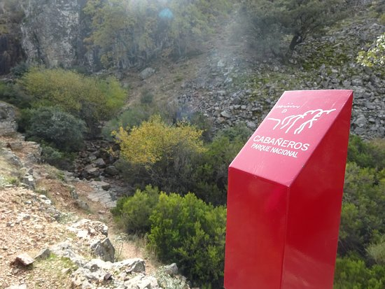 Los Navalucillos, España: Cascada Del Chorro