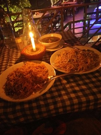 candle light dinner gods own country kitchen