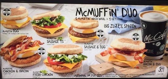 Frühstück McdonaldS