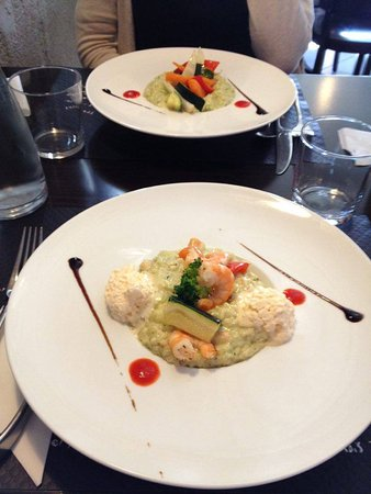 Listrac-Medoc, France: Risotto