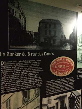 entr e du bunker au 8 rue des dames photo de le bunker de la rochelle la rochelle tripadvisor. Black Bedroom Furniture Sets. Home Design Ideas
