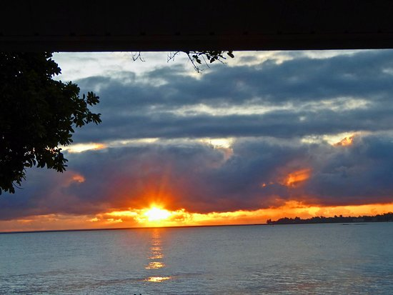 The Bay House: Sunrise from our lanai