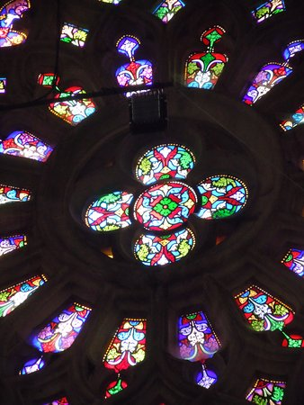 L'Épine, France : Le coeur de la grande rosace