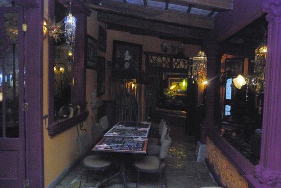 Corteza Amarilla Lodge : Het restaurant