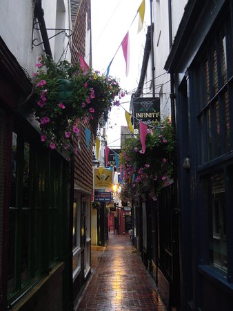 Little alley in The Lanes