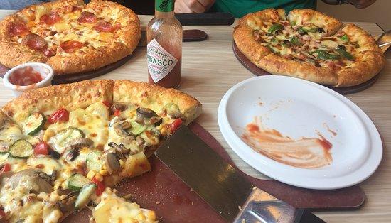 2 pizzas and soft drinks 70 review of pizza hut jordan hong kong china tripadvisor