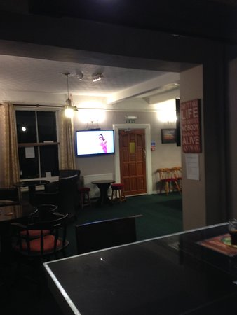 Port Carlisle, UK: Bar area