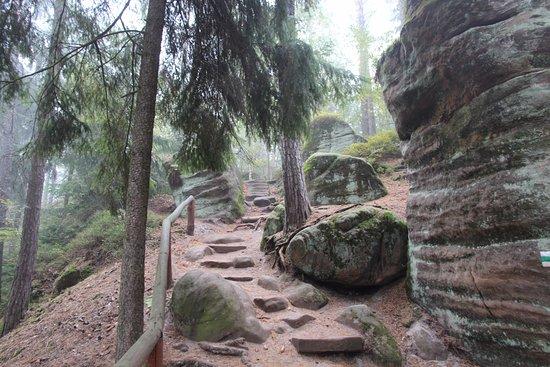Jicín, República Checa: Праховские скалы, Чешский Рай, октябрь 2016