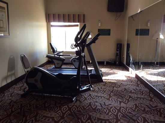 Iowa, LA: exercise room