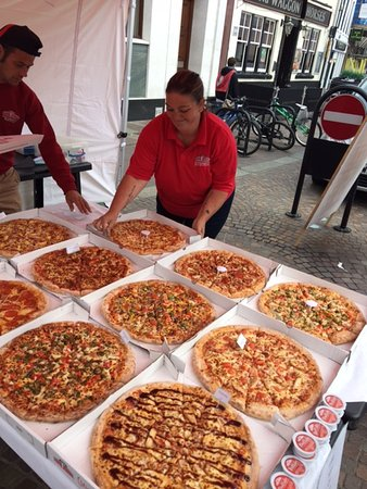 papa johns free large pizza