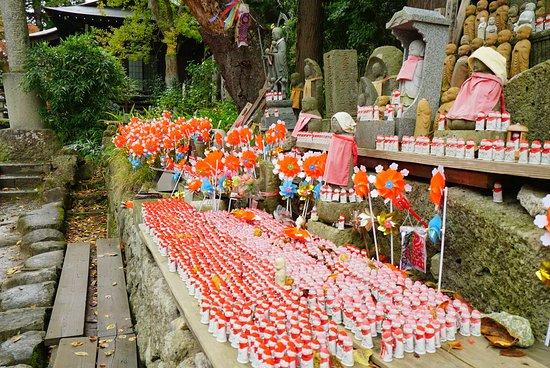 Risshaku-ji Temple: 登る前