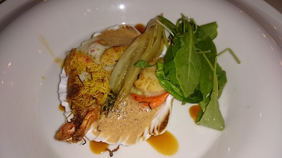 Eygalieres, Prancis: coquille st jacques