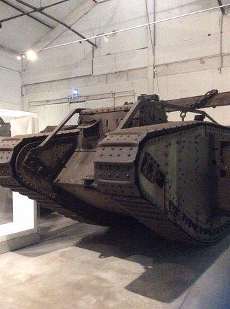 Musée Royal de l'Armée (Koninklijk Legermuseum): WWI Tank