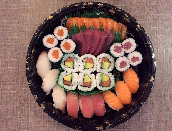 panda express oriental food menu sushi