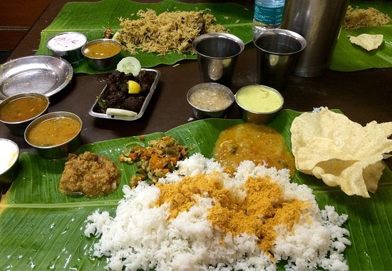 Andhra authentic veg non veg food mysore picture for Andhra cuisine vegetarian