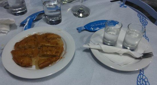 Agios Georgios, Greece: dolce con miele