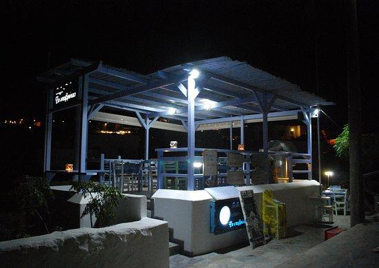 Agios Georgios, Greece: il locale da fuori