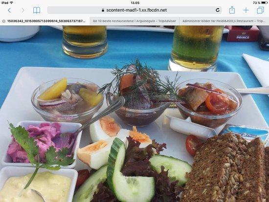 heidi s restaurant sildetallerken herringplate