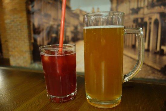 Bravaria: Juice and beer