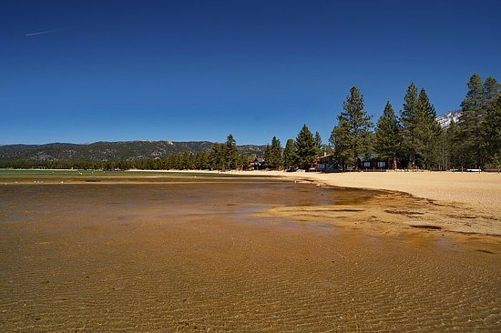 South Lake Tahoe, CA: Lakeside Beach