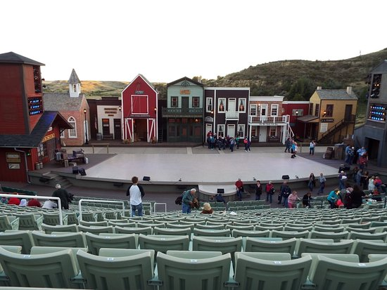 Medora Musical: Before the show started
