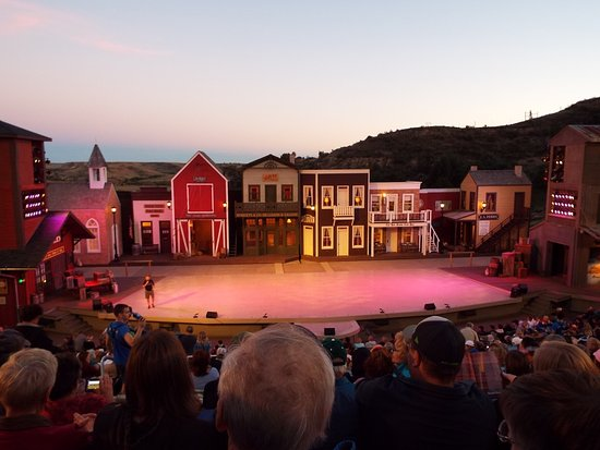 Medora Musical: After the show started