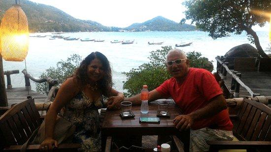 Koh Tao Cabana: מסעדת המלון עם שירות מעולה, אוכל טעים ויחס מפנק