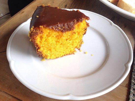 Bolo De Cenoura Com Chocolate Picture Of Jacques Cafe Mairipora