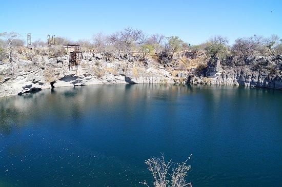 Tsumeb, Namibia: het meer