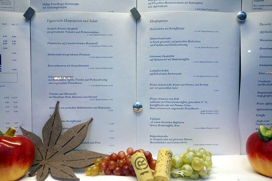 zum kornmesser menu