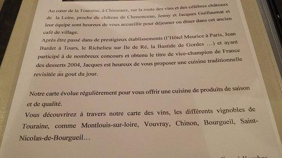 Chisseaux, Prancis: Quelques infos sur les maîtres de maison