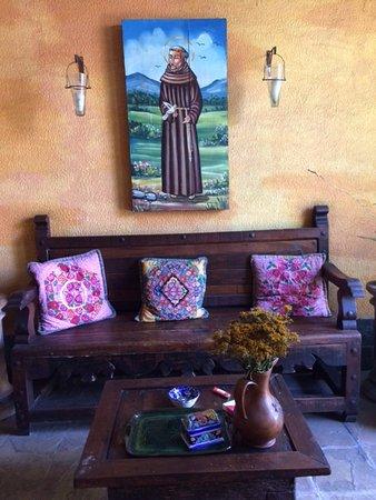 Casa Venezuela: Sitting area.