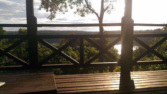 Puerto Libertad, Argentina: Desde el deck que da al Paraná