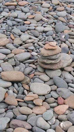 Whithorn, UK: Those odd pebbles