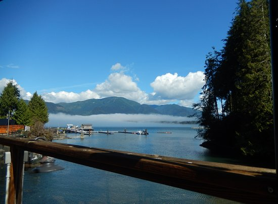Port Renfrew, Kanada: View of the bay
