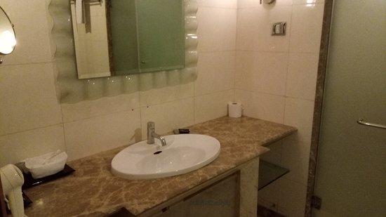 Goldfinch Hotel Bangalore: Bathroom   Wash Basin Area