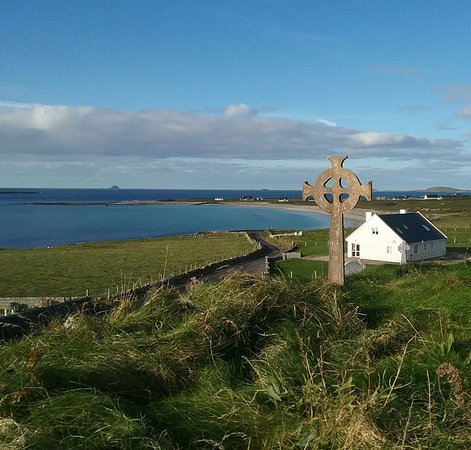 Belmullet, Irland: View from the church