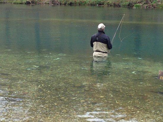 Lebanon, Missouri: Fishing at Bennett Springs