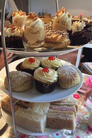 Witham, UK: Afternoon tea - £12.50 - BARGAIN!