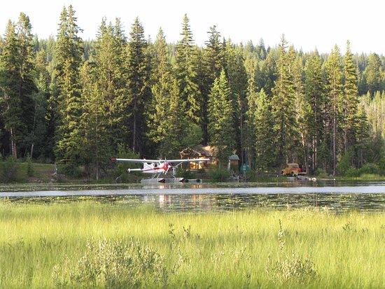 Lac La Hache, Canada: Blick vom Stellplatz auf den See