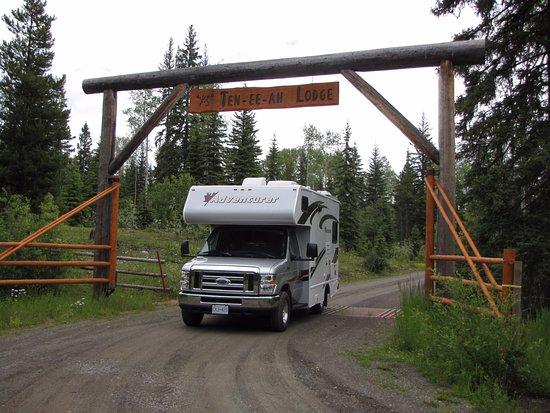 Lac La Hache, Canadá: Eingangstor