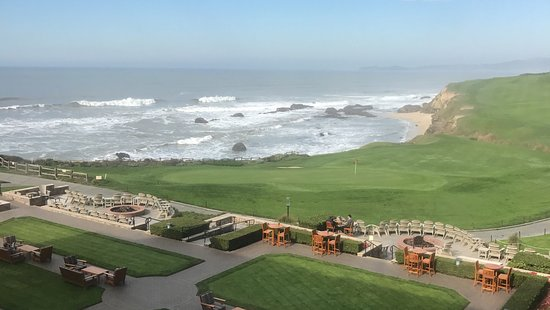 ‪‪The Ritz-Carlton, Half Moon Bay‬: View from Club room on the 5th Floor‬
