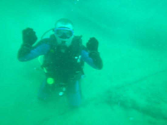 Dive Center: Blue Dolphin Djerba: Это я.