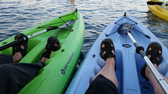 Tahoe City Kayak: The kayaks - we had a GREAT time!