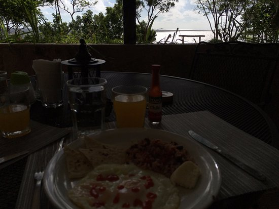 Playa Santo Domingo, Nikaragua: Breakfast Views