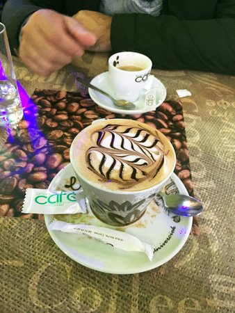 Itineraire Cafe : cappuccino