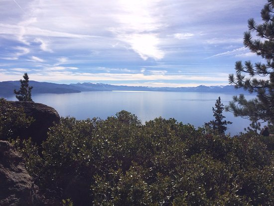 Crystal Bay, NV: View of Lake Tahoe from Stateline Lookout (Above Incline Village)