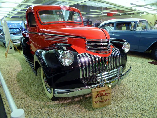1941 Chevy 1 1/2 Ton Truck - Picture of Museum of Automobiles