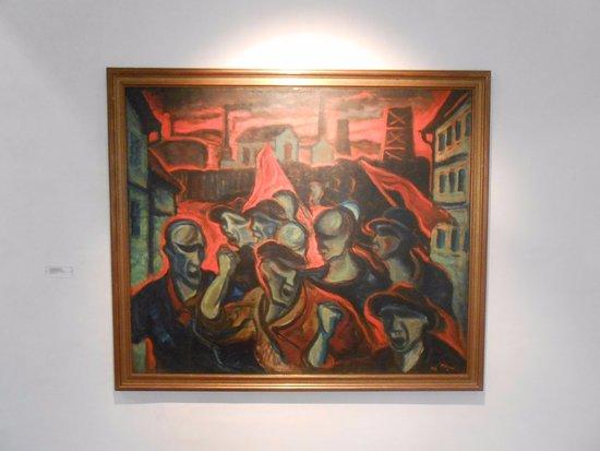 Gask: Proletarian demonstration - Otakar Nejedly 1914